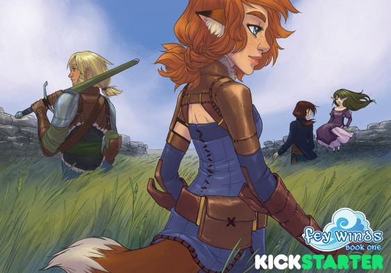 Fey Winds Kickstarter